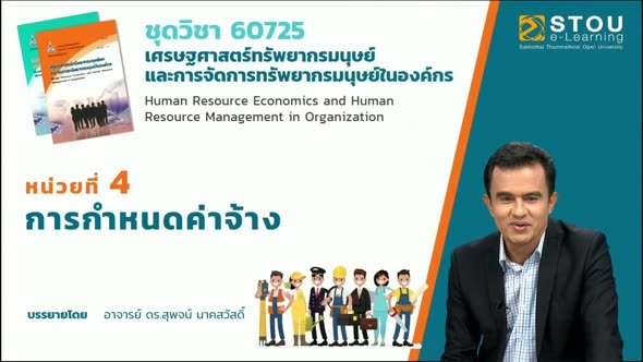 60725 โมดูล 3 สรุปเนื้อหาหน่วยที่ 4 การกำหนดค่าจ้าง