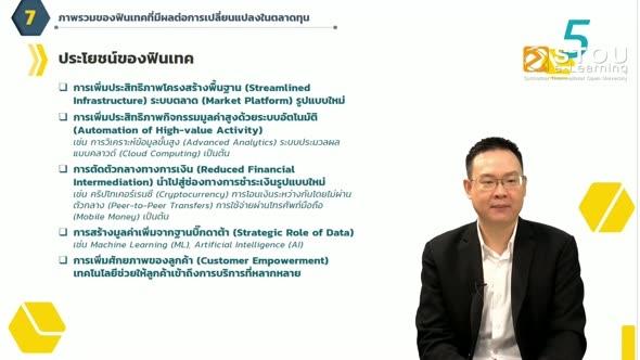 32344 หน่วยที่ 8 เทคโนโลยีและนวัตกรรมทางการเงิน Part 2