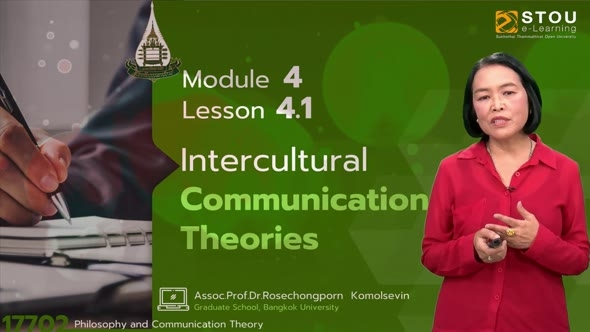17702 Module  4 Lesson 4.1 Intercultural Communication Theories