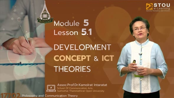 17702 Module 5 Lesson 5.1 Devel Opment Concept & ICT Theories