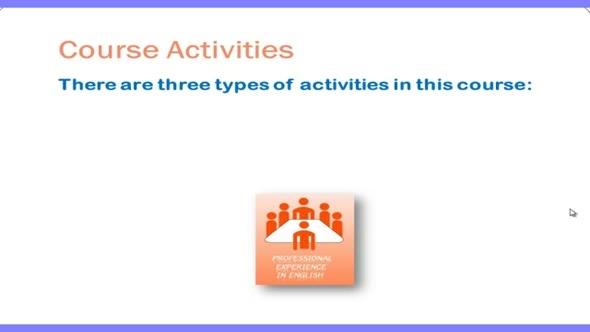 14423 ปฐมนิเทศชุดวิชา 3.Course activities
