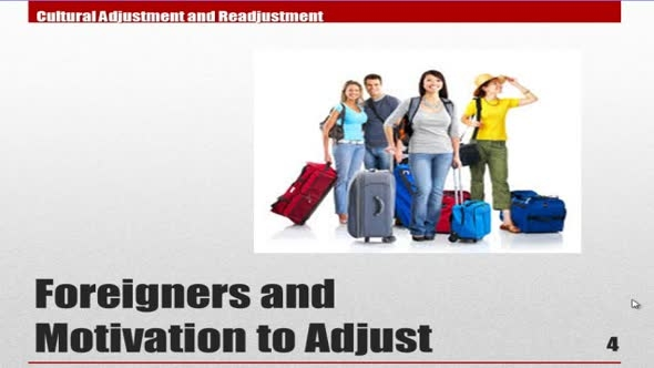 14126 Module 13 Foreigners and Motivation to Adjust 1