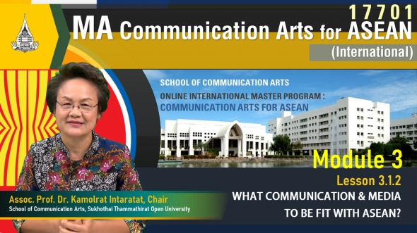 Module 3 Lesson 3.1.2 What Communication & Media To Be Fit With ASEAN