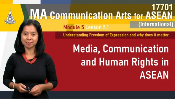 17701 Module 5 Lesson 5.1 Understanding Freedom of Expression and why does it matter