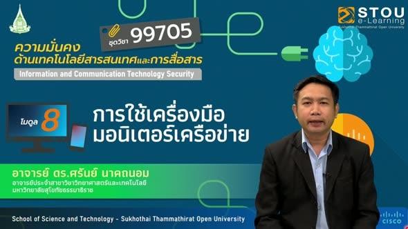 99705 โมดูล 8 การใช้เครื่องมือมอนิเตอร์เครือข่าย