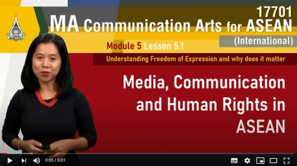 17701 module 5 lesson 5 1 media, communication and human rights in asenan