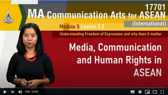 17701 module 5 lesson 5 2 media, communication and human rights in asenan