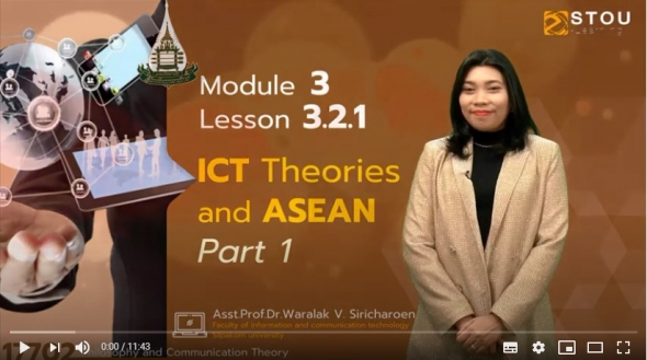 17702 Module 3 Lesson 3.2.1 ICT Theories and ASEAN Part 1