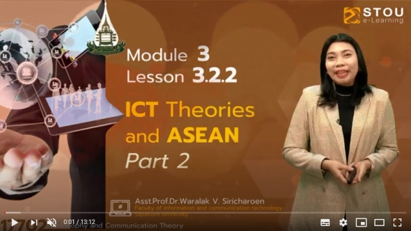 17702 Module 3 Lesson 3.2.2 ICT Theories and ASEAN Part 2