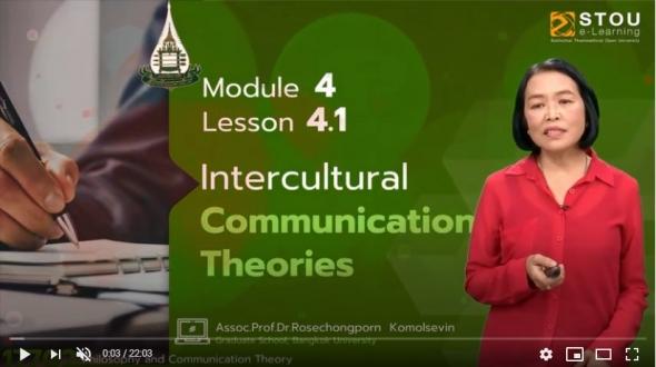 17702 Module  4 Lesson 4.1 Intercultural Communication Theories
