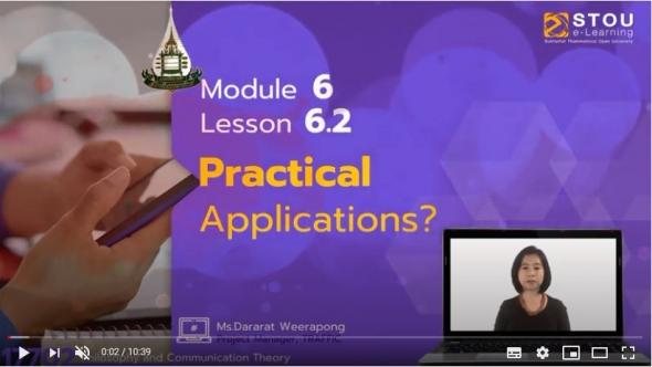 17702 Module 6 Lesson 6.2 Practical Applications