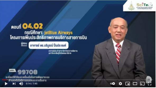 99708 โมดูล 4 ตอนที่ 4.2 กรณีศึกษา: jetBlue Airways โครงการเพิ่มประสิทธิภาพการบริการสายการบิน