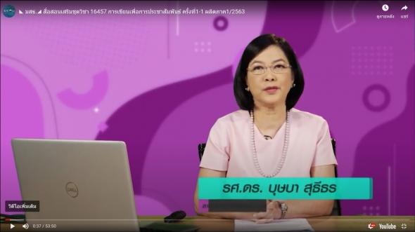 สื่อสอนเสริมชุดวิชา 16457 การเขียนเพื่อการประชาสัมพันธ์ ครั้งที่1-2