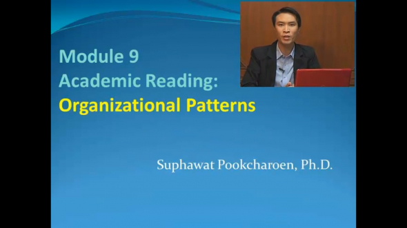 14317 Module 9 Academic Reading:Organizational Patterns