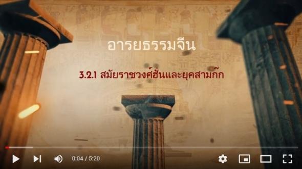 10121 เรื่องที่ 3.2.1 ราชวงศ์ฮั่นและยุคสามก๊ก