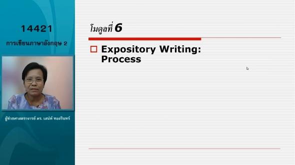 14421 Module 6 Expository Writing Process