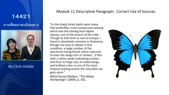 14421 14421 Module 11 Descriptive Paragraph Correct Use of Sources