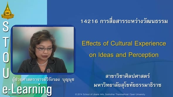 14216 Module 3 Effects of Cultural Experience on Ideas and Perception