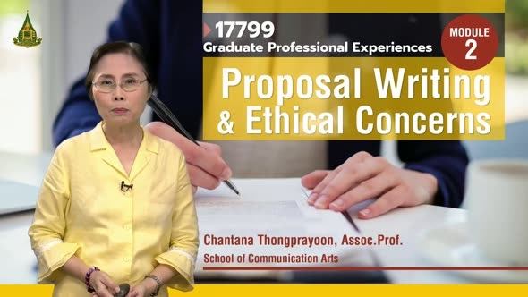 17799 Module 2 Proposal Writing & Ethical Concerns