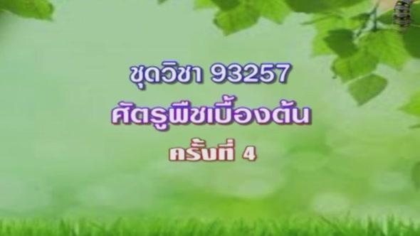 93257 ศัตรูพืชเบื้องต้น รายการที่ 8